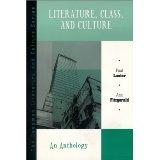 Literature, Class, Culture